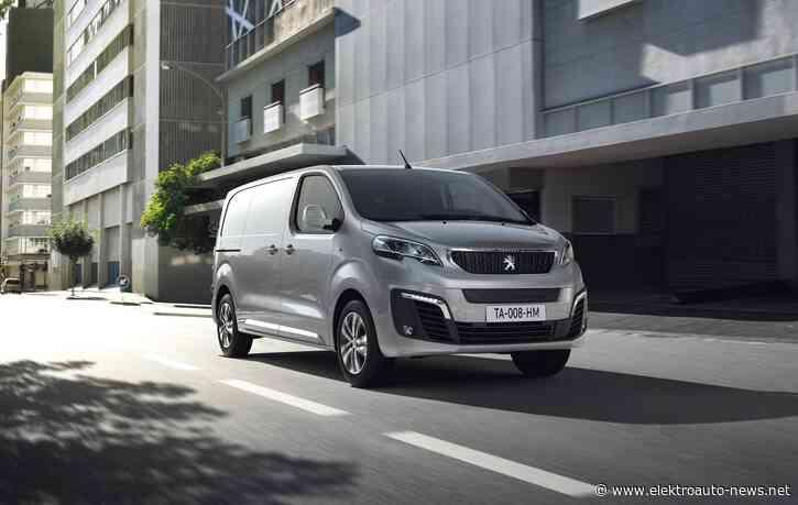Peugeot stellt Details des Elektrotransporters e-Expert vor