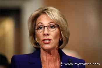 Secretary DeVos Challenges Educators to Rethink Education Options for Rural High School Students Amid Coronavirus Pandemic - MyChesCo