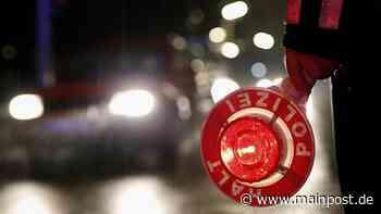 Polizei Mellrichstadt: Mehr Unfälle, aber weniger Verletzte - Main-Post