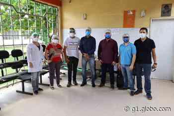 Cápsulas respiratórias e máscaras são doadas ao Hospital Municipal de Monte Alegre - G1