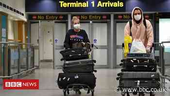 Coronavirus: Quarantine scrapped for arrivals from 'low risk' countries to England