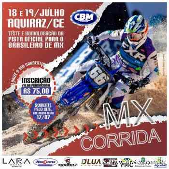 Aquiraz (CE) recebe prova teste para Brasileiro de Motocross em 18 e 19 de julho - MotoX - Motocross Online Brasil