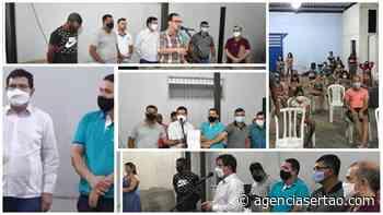 Prefeito e vereadores de Guanambi descumprem decreto e promovem evento político - Agência Sertão