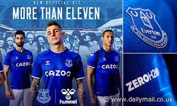 Everton unveil 2020-21 home kit produced by new suppliers Hummel