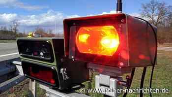 Im Landkreis Peine wird heute auf Fernstraßen geblitzt - Peiner Nachrichten