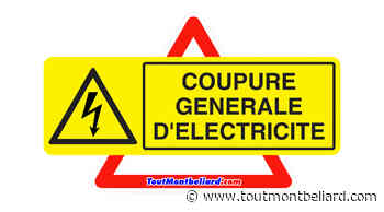 Coupure d'électricité à Audincourt, Seloncourt, Taillecourt - ToutMontbeliard.com