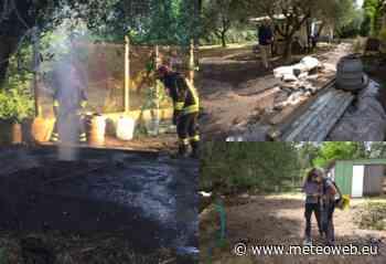 Blowout a Ciampino: emissione di gas tossici da un pozzo alle pendici dei Colli Albani, intervento degli e ... - Meteo Web