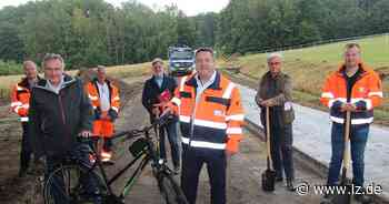 Radweg-Lückenschluss beginnt in Diestelbruch   Lokale Nachrichten aus Detmold - Lippische Landes-Zeitung