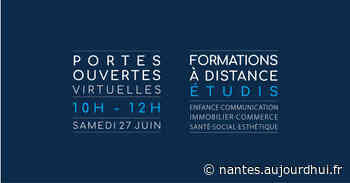 Journée Portes Ouvertes Virtuelle école ETUDIS - ETUDIS Nantes, Saint Herblain, 44800 - Sortir à Nantes - Le Parisien Etudiant