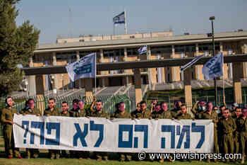 Masked Protest for Hadar Goldin and Oron Shaul - The Jewish Press - JewishPress.com
