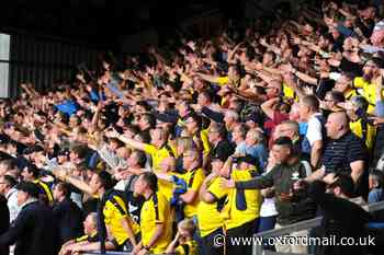 OXFORD UNITED: Supporters buy cut-outs for each other ahead of Portsmouth clash