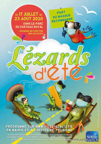 Lézards d'été de Senlis vendredi 17 juillet 2020 - Unidivers