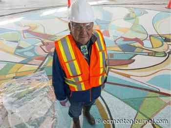 """David Staples: Canada's great artist Janvier on residential schools: """"I would like to say something nice, but unfortunately when you're whipped into submission, it's not that pretty."""""""