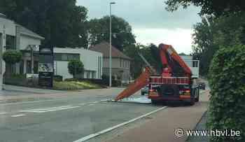 Lading ramen klettert op grond in Bilzen (Bilzen) - Het Belang van Limburg Mobile - Het Belang van Limburg