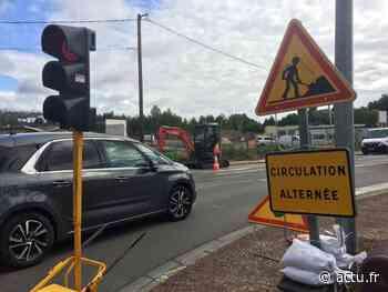 Nouveau giratoire à Bernay : trois mois de circulation alternée - L'Eveil Normand