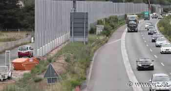 A57 bei Krefeld-Oppum: Neuer Lärmschutz kommt bald - Einschränkungen für Verkehr - Westdeutsche Zeitung