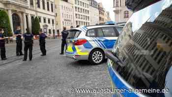 Bombendrohung: Großeinsatz der Polizei am Augsburger Rathaus