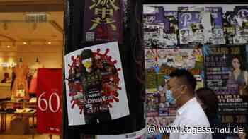 """Hongkong: Erste Beschuldigungen unter neuem """"Sicherheitsgesetz"""""""