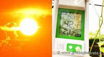 Caldo record a Taranto: oggi si boccheggia. A Grottaglie oltre 42° nei vigneti. ASL emana nuova emergenza - Grottaglie in rete