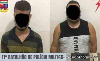 Polícia Militar detém foragidos do Acre em Extremoz, no Rio Grande do Norte - ac24horas.com