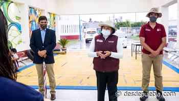 Desde San Andrés Cholula: Inaugura Karina Pérez Popoca planta purificadora de agua para consumo humano - DesdePuebla