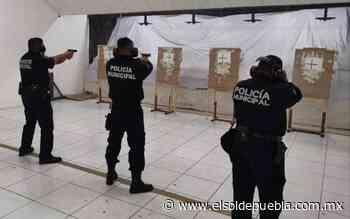 """Capacitan a policías de San Andrés Cholula en """"Competencias Básicas"""" - El Sol de Puebla"""