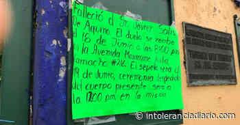 Velorios clandestinos en San Andrés Cholula, posible fuente de contagio Covid-19 - Intolerancia Diario