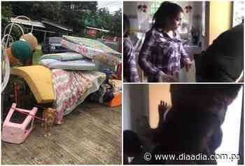 Sin piedad y entre mentiras desalojaron a una familia en La Cabima - Día a día