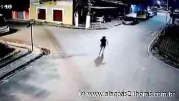Imagens de câmera mostram tentativa de assalto a vereador em Satuba - Alagoas 24 Horas
