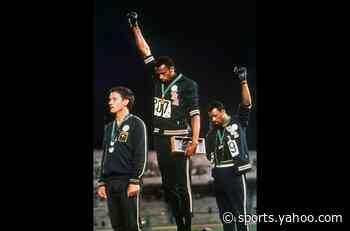 Five decades after his iconic protest at Olympics, Tommie Smith says he's still getting death threats - Yahoo Sports
