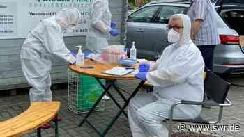 Corona-Tests in Fleischbetrieb in Hilgert   Koblenz   SWR Aktuell Rheinland-Pfalz   SWR Aktuell - SWR