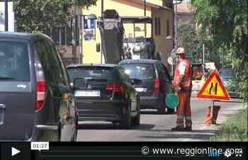 Lavori in via Gorizia: lunghe code per entrare a Reggio Emilia. VIDEO - Reggionline