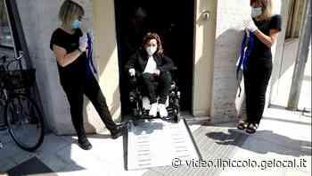 Solidarietà a Gorizia, pedane in dono per abbattere le barriere architettoniche nei negozi - Il Piccolo