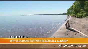 Good Question: Why is Durand Eastman Beach still closed?