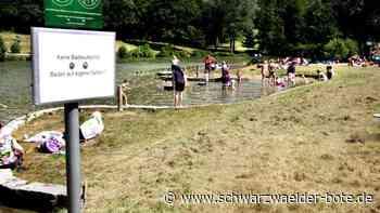 Rangendingen: Stausee wieder geöffnet - aber ohne Aufsicht - Rangendingen - Schwarzwälder Bote