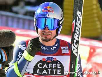 Dominik Paris rientra in gruppo coi velocisti a Formia - Sciare