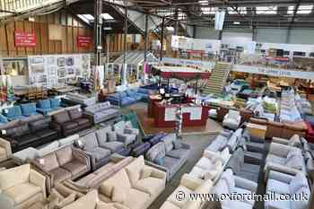 Customers shop at Trade Secret furniture store as lockdown eases
