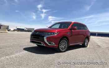 Mitsubishi Outlander PHEV 2020: le monopole achève