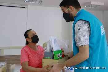 Vendedores informales de Santa Rosa recibieron elementos de bioseguridad - El Diario de Otún