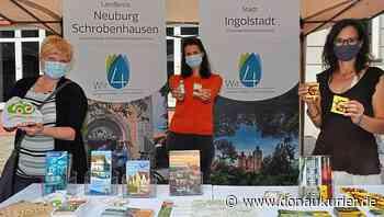 Schrobenhausen: Werben für Urlaub in der Region - Premiere eines gemeinsamen Standes der Landkreise Neuburg-Schrobenhausen, Pfaffenhofen, Eichstätt und der Stadt Ingolstadt - donaukurier.de