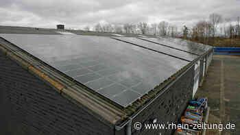 Fotovoltaik, Regenwassernutzung: Cochem will Akzente im Klimaschutz setzen - Rhein-Zeitung