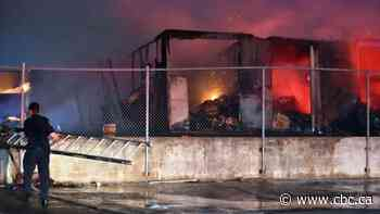North York tow lot torched for 2nd time this week