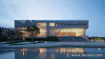Open Architecture unveils Pingshan Performing Arts Center - Dezeen