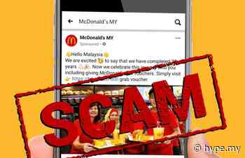 McDonald's Malaysia Issues Warning Of Gift Vouchers Scam - Hype.MY