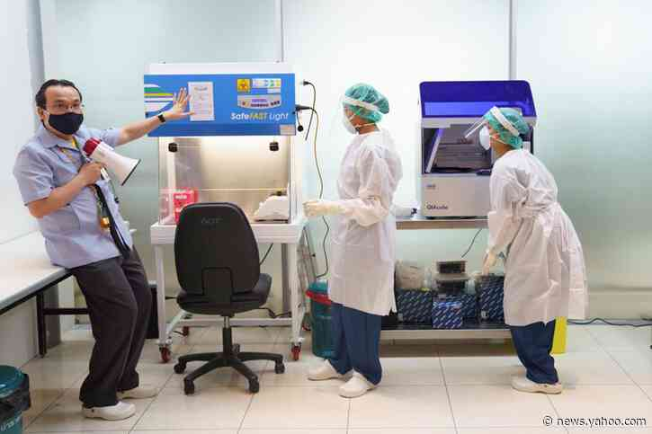 Thailand's main airport offers rapid coronavirus test for international arrivals