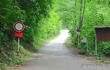Weg zum Staufen wird länger: Eigentümer sperren Privatstraße - Passauer Neue Presse