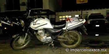 Abandonan motocicleta tras un presunto robo en Santa Lucía - El Imparcial de Oaxaca
