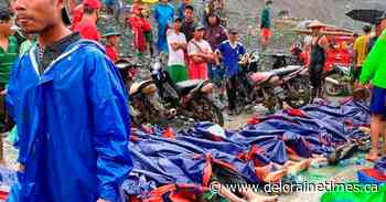 Landslide at Myanmar jade mine kills at least 162 people - Deloraine Times