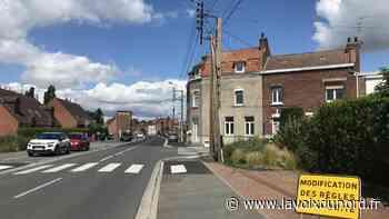 Wavrin: une nouvelle priorité à droite rue Raymond-Poincaré - La Voix du Nord