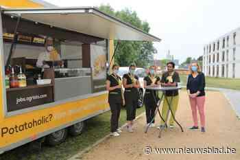 Gratis frietjes voor bewoners en personeel wzc Zonnewende